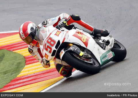 Marco Simoncelli history of struggle in the race