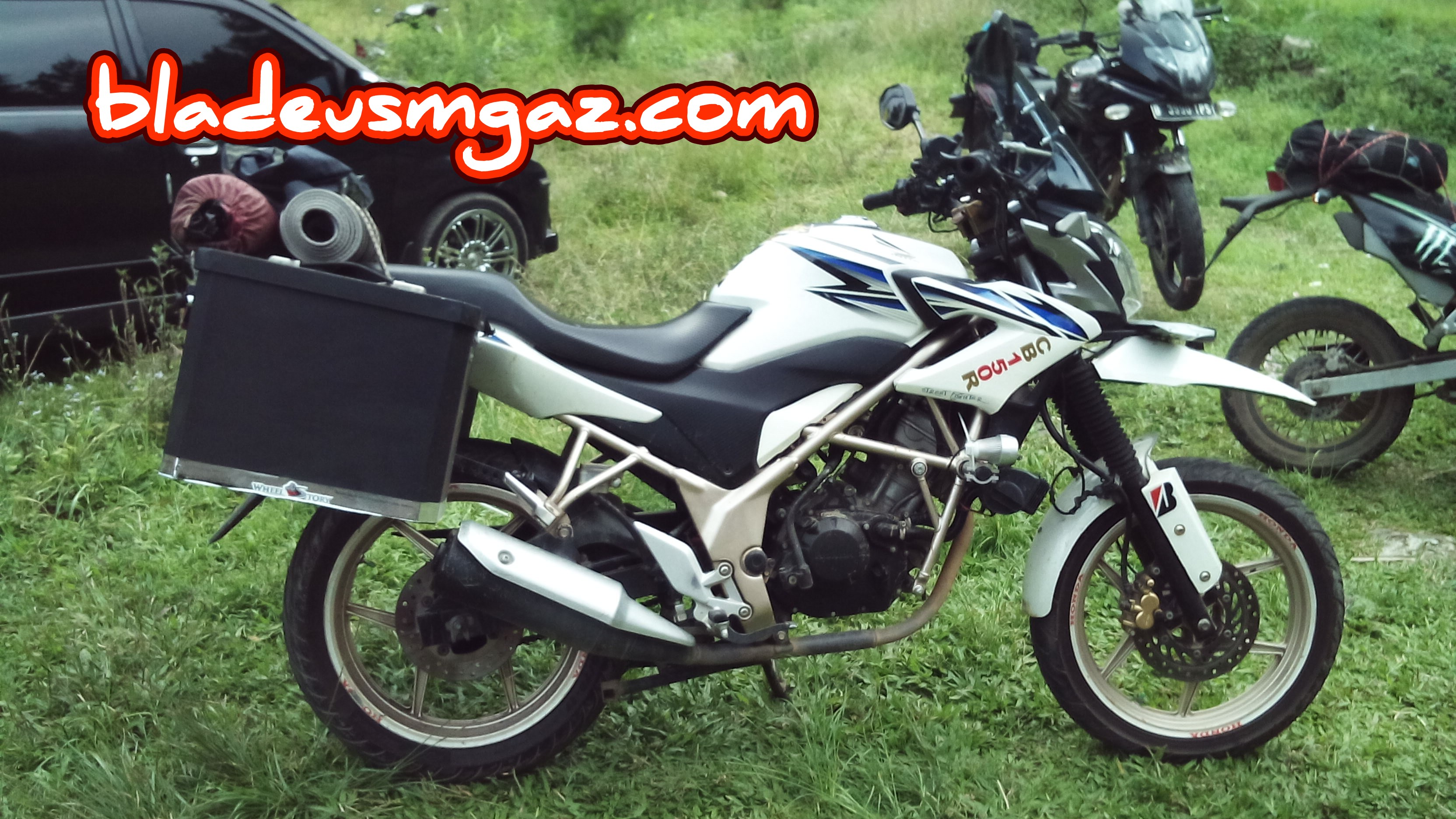 Kumpulan Modifikasi Motor Matic Jadi Sport Terbaru Kampong Motor